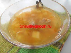 Детский гороховый суп в мультиварке (рецепт с фото)