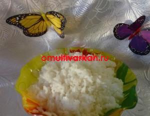 Рис на гарнир, приготовленный в мультиварке (рецепт с фото)