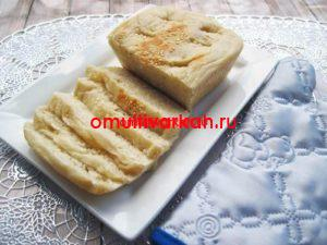 Белый хлеб  в мультиварке REDMOND RMC-M4524 (рецепт с фото)