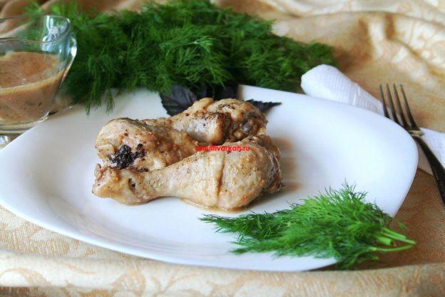 Куриные голени по-баварски (рецепт с фото)