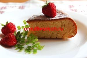 Кекс на кефире (рецепт с фото)