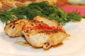 Грудинка куриная на кефире (рецепт с фото)