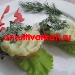 Картофель запечённый в мультиварке REDMOND RMC-M4524 (рецепт с фото)