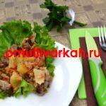 Рагу из молодой капусты с мясом (рецепт с фото)