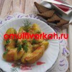 Картофель, тушёный в сливках  в мультиварке REDMOND RMC-M4524 (рецепт с фото)