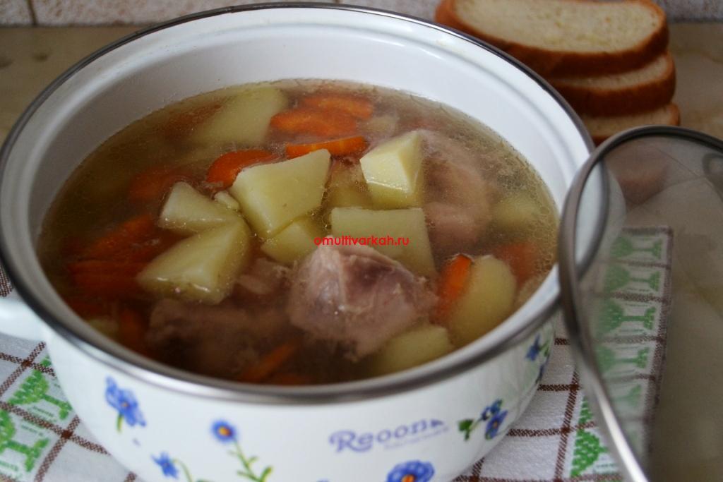 Картофельный суп с индюшкой